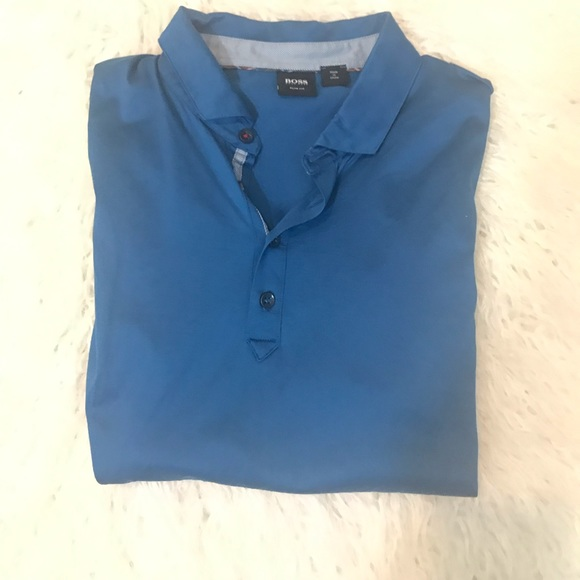 Hugo Boss Other - Hugo Boss slim fit polo shirt size L